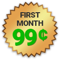 First Month 99 Cents